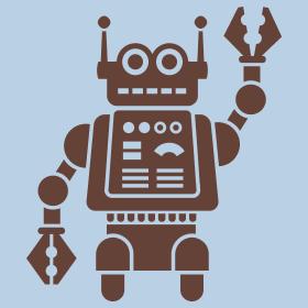 Robotcha's Friendly Robot design