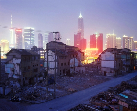 Neighborhood Demolition, Fangbang Lu, 2006, by Greg Girard